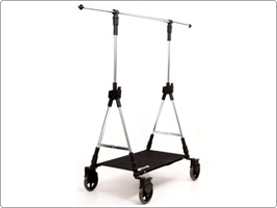 Design kledingrek Soopl fashion trolley